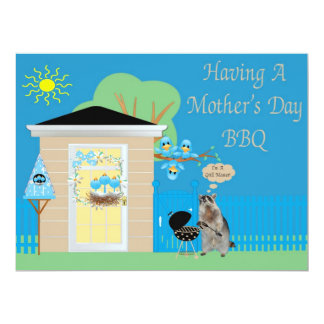 Mother's Day Barbeque Invitation