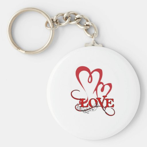 mothers day basic round button keychain