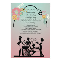 Mother's Day BBQ Invitation