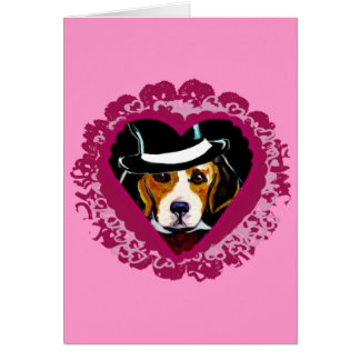 Mothers day Beagle Card