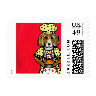 MOTHERS DAY BEAGLE POSTAGE