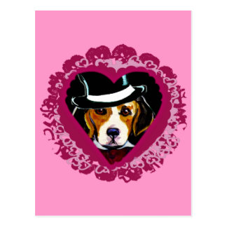 Mothers day Beagle Postcard