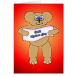 Mothers Day Bear Greeting Cards