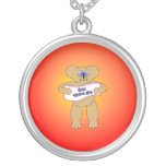 Mothers Day Bear Necklace