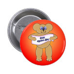 Mothers Day Bear Pin