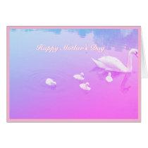 Mother's Day Beautiful Swan Lake