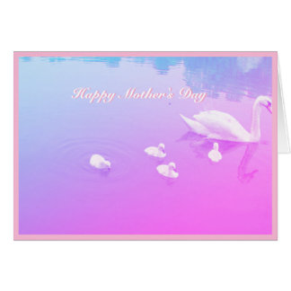 Mother's Day Beautiful Swan Lake