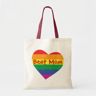 Mother's Day Best Mom Canvas Bags