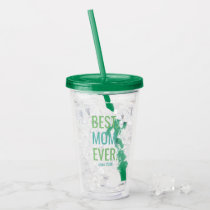 Mothers Day Best Mom Ever Classic Modern Moms Acrylic Tumbler