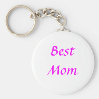 Mother's Day Best Mom Keychain