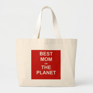 Mother's Day - Best Mom Large Tote Bag