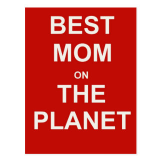 Mother's Day - Best Mom Postcard