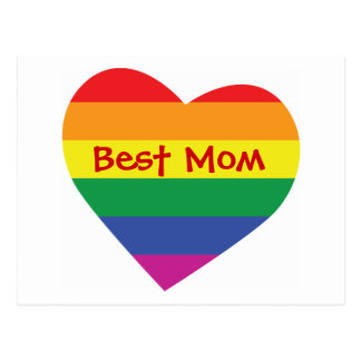 Mother's Day Best Mom Postcard