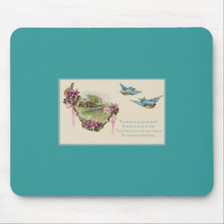 Mother's Day Birds in Flight Mouse Pad