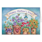 Mother's Day Blooms - Greeting Card