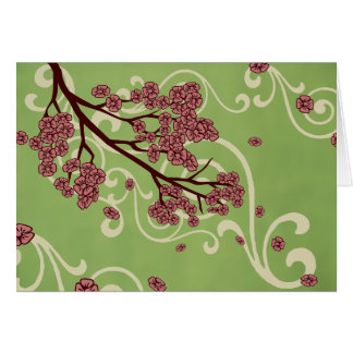 Mother's Day Blossoms Greeting Card