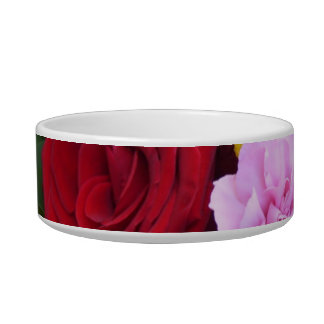 Mother's Day Bouquet Cat Food Bowl