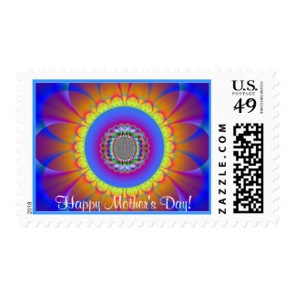 Mother's Day Bouquet Postage Stamp