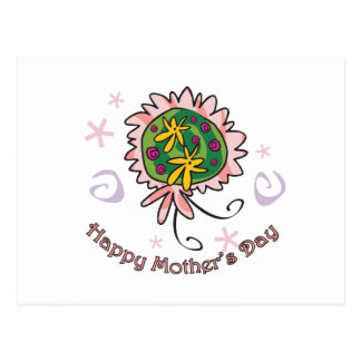 Mother's Day bouquet Postcard