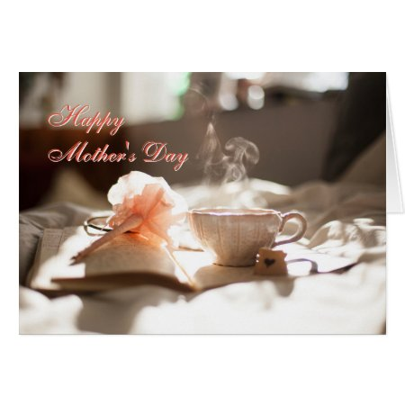 Mothers Day - breakfast in bed Card