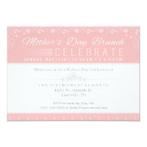 Mother's Day Brunch Celebration Invitation - Pink