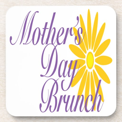 Mothers Day Brunch Coaster