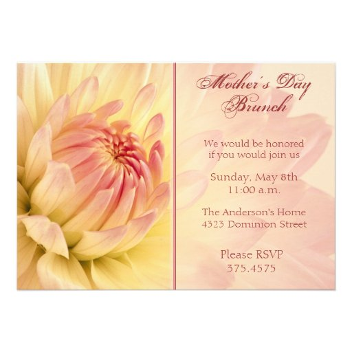 Invitation For Brunch with best invitation design