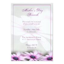 Mother's Day Brunch Daisy Invitation