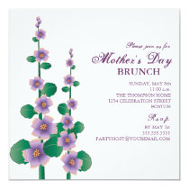 Mother's Day Brunch Floral Garden Invitation