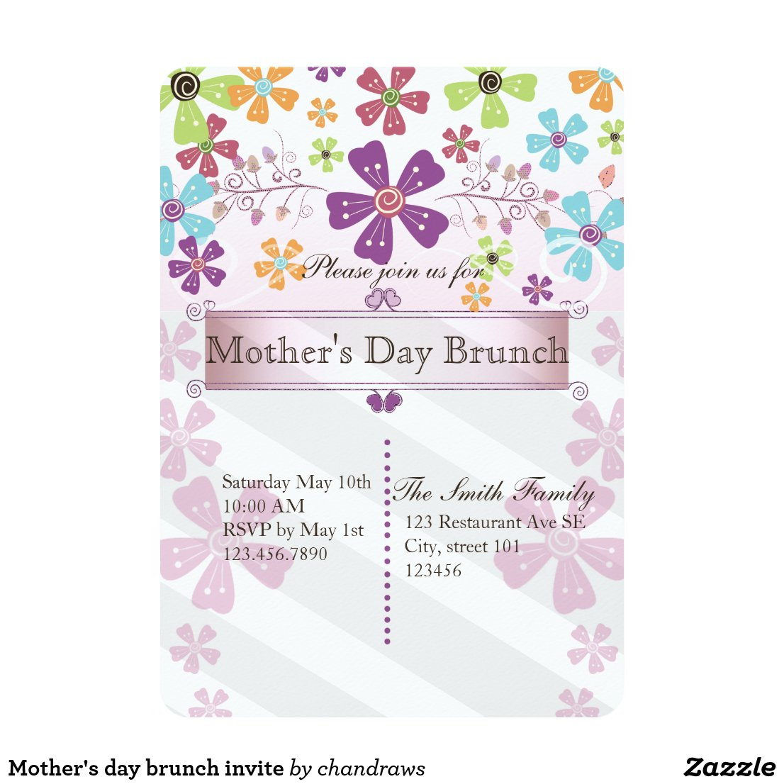 Mother's day brunch invite