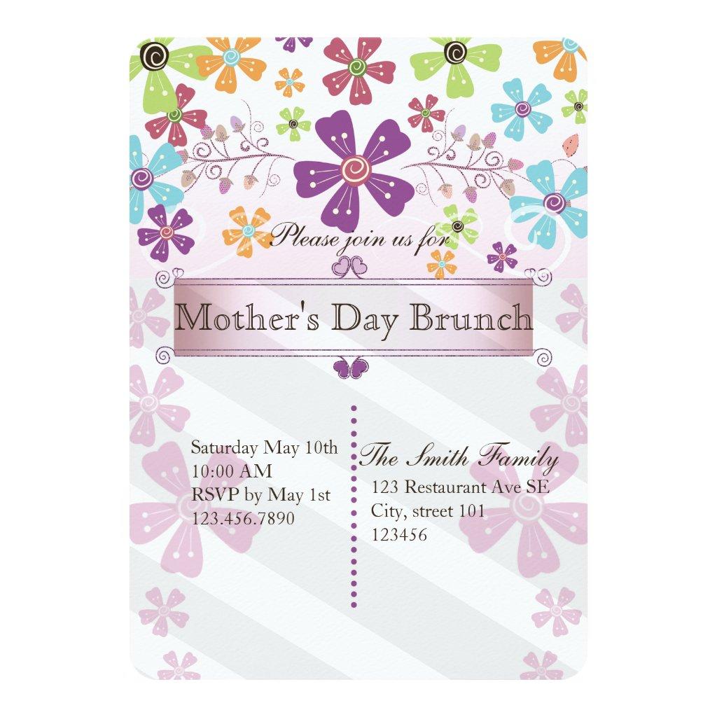 Mother's day brunch invite