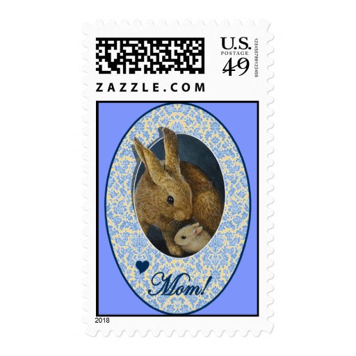 Mothers Day Bunnies Postage