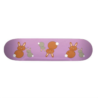 Mothers Day Bunnies Skateboard