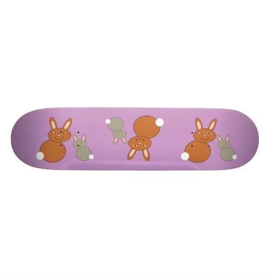 Mothers Day Bunnies Skateboard