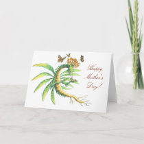 Mother's Day Butterfly & Dragon card