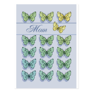 Mother's Day Butterfly Flying Postcard