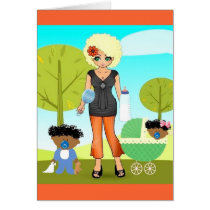 Mothers Day Card African American American Mother