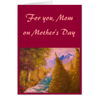 Mother's Day Card - Customized