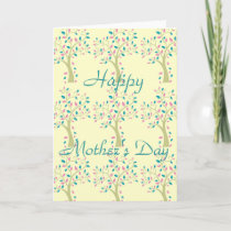 Mother's Day card-FAMILY TREE Card