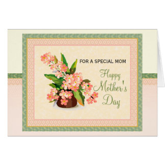 Mother's Day Card: For a Special Mom Card
