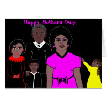 mother's day card for African Americans