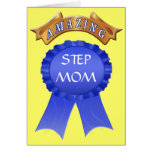 Mothers Day Card for Stepmoms - Amazing Step Mom