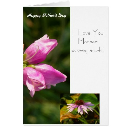 Mother's Day Card from a Child to Mom