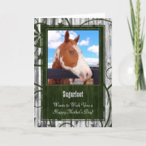 Mother's Day Card from the Horse Photo