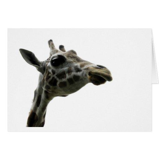 Mother's day card  - Giraffe