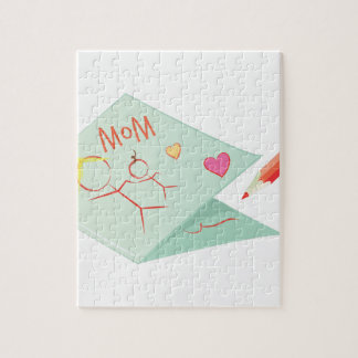 Mothers Day Card Jigsaw Puzzle