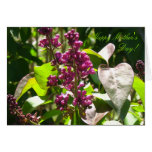 Mother's Day Card - Lilacs