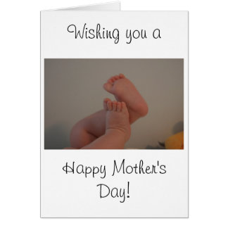 Mother's Day Card Memories Saying