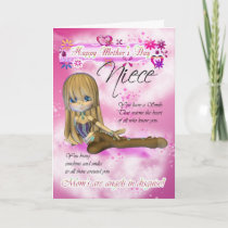 Mother's Day Card, Moonies Cutie Pie collection Card