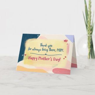 Mother's Day Card Paint Brush